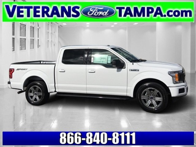 2018 Ford F-150 XLT Twin Turbo Regular Unleaded V-6 3.5 L/213 Engine Automatic 4 Door RWD