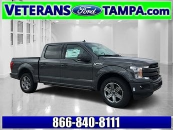 2018 Ford F-150 Lariat RWD Truck Automatic Twin Turbo Regular Unleaded V-6 3.5 L/213 Engine 4 Door