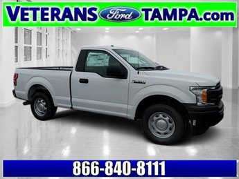 2018 Oxford White Ford F-150 XL Truck RWD Automatic Regular Unleaded V-6 3.3 L Engine 2 Door