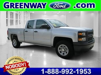 2015 Silver Ice Metallic Chevy Silverado 1500 Work Truck Truck Automatic 4 Door