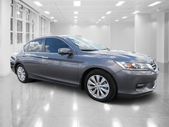 2014 Gray Honda Accord Sedan EX 4 Door FWD Regular Unleaded I-4 2.4 L/144 Engine