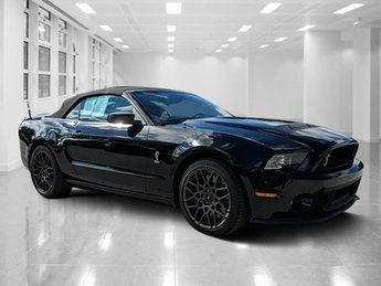 2014 Black Ford Mustang Shelby GT500 Convertible Intercooled Supercharger Premium Unleaded V-8 5.8 L/355 Engine 2 Door Manual