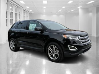 2016 Shadow Black Ford Edge Titanium FWD Regular Unleaded V-6 3.5 L/213 Engine SUV