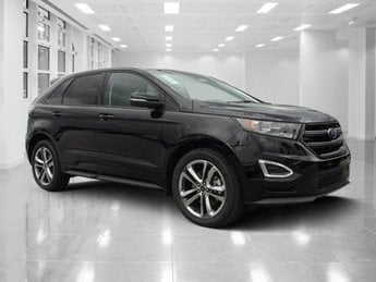 2018 Shadow Black Ford Edge Sport SUV AWD Automatic 4 Door Twin Turbo Premium Unleaded V-6 2.7 L/164 Engine