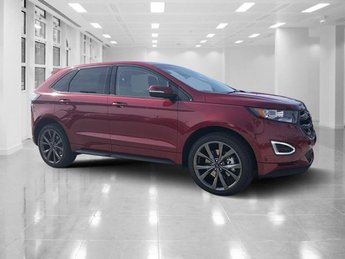 2018 Ruby Red Metallic Tinted Clearcoat Ford Edge Sport 4 Door AWD Twin Turbo Premium Unleaded V-6 2.7 L/164 Engine Automatic SUV