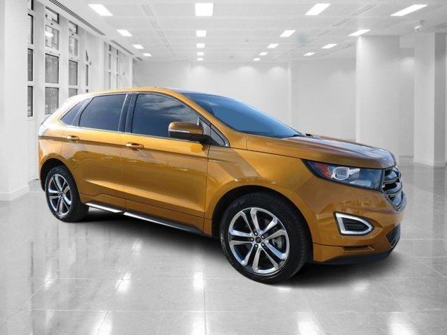 Electric Spice Metallic Ford Edge Sport Awd  Door Twin Turbo Premium Unleaded V