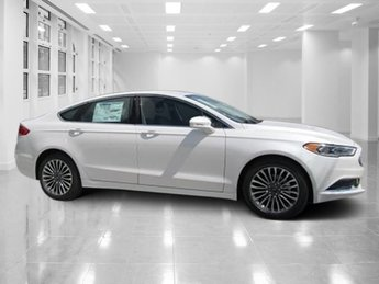 2018 White Metallic Ford Fusion SE Intercooled Turbo Regular Unleaded I-4 1.5 L/91 Engine Automatic FWD 4 Door Sedan