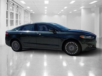 2015 Guard Ford Fusion Titanium Sedan Intercooled Turbo Regular Unleaded I-4 2.0 L/122 Engine Automatic FWD