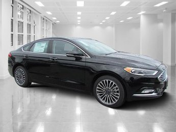 2018 Shadow Black Ford Fusion Titanium 4 Door Automatic FWD Intercooled Turbo Regular Unleaded I-4 2.0 L/122 Engine Sedan