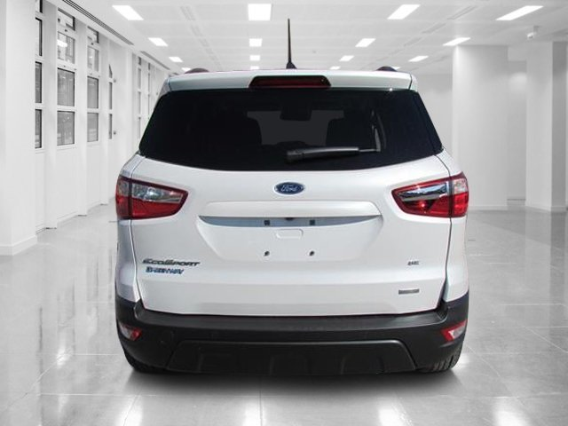 2018 White Platinum Clearcoat Metallic Ford EcoSport SE Intercooled Turbo Regular Unleaded I-3 1.0 L/61 Engine FWD SUV Automatic 4 Door