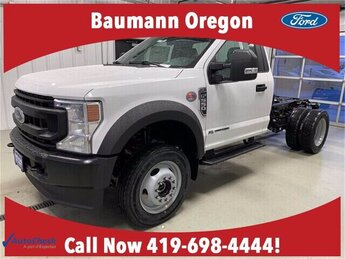 2020 Oxford White Ford Super Duty F-550 DRW XL Automatic 6.7L V8 Diesel Engine Truck 2 Door