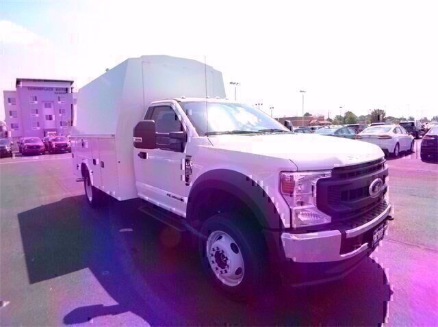 2020 Oxford White Ford Super Duty F-550 DRW XL Automatic 4X4 Truck 6.7L V8 Diesel Engine