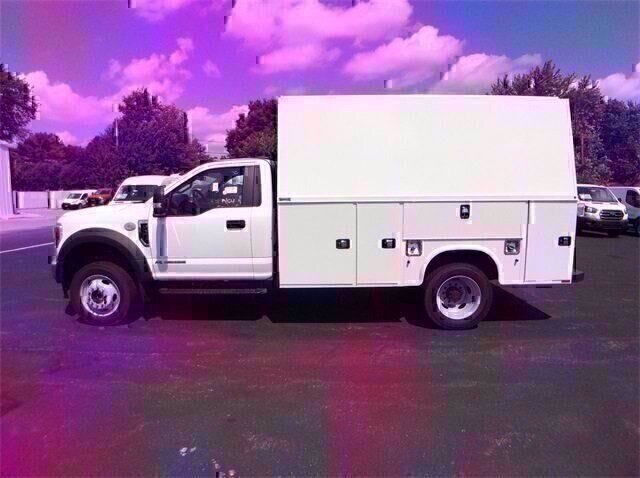 2020 Oxford White Ford Super Duty F-550 DRW XL 6.7L V8 Diesel Engine Automatic 4X4 Truck