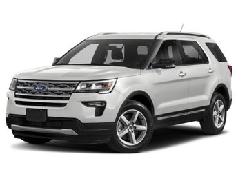 2019 Oxford White Ford Explorer Base 4 Door SUV 3.5L V6 Ti-VCT Engine 4X4 Automatic
