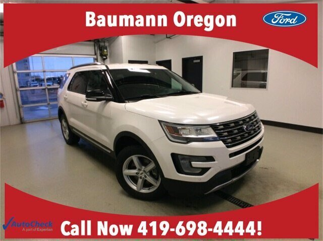 2017 Ford Explorer XLT 4X4 4 Door Automatic
