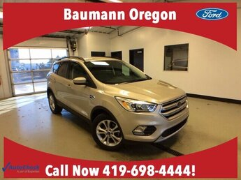 2017 White Gold Metallic Ford Escape SE 1.5L 4 cyls Engine SUV 4 Door