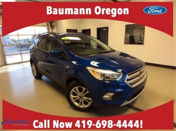2018 Lightning Blue Metallic Ford Escape SEL SUV FWD Automatic 1.5L 4 cyls Engine 4 Door