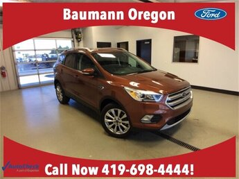 2017 Canyon Ridge Metallic Ford Escape Titanium 4 Door FWD SUV