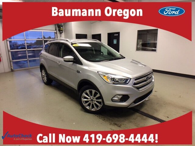 2017 Ford Escape Titanium Automatic 4 Door 1.5L 4 cyls Engine