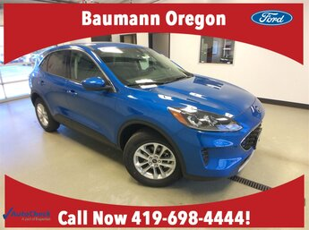 2020 Blue Ford Escape SE SUV 1.5L 3 cyls Engine AWD Automatic