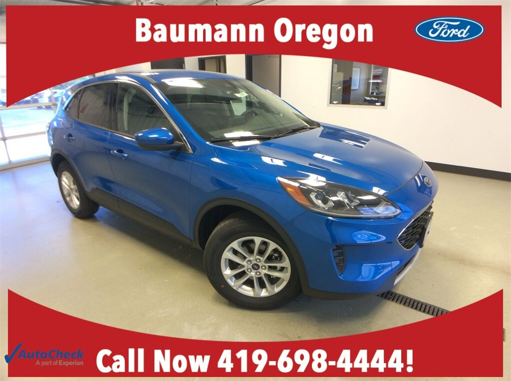 2020 Blue Ford Escape SE Automatic 1.5L EcoBoost Engine SUV