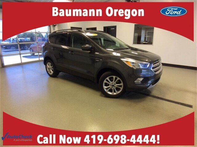 2018 Magnetic Metallic Ford Escape SE Automatic 4 Door SUV 4X4