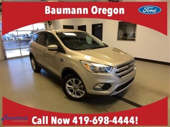 2017 White Gold Metallic Ford Escape SE 4 Door SUV Automatic 4X4 1.5L 4 cyls Engine