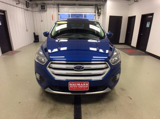 2019 Lightning Blue Metallic Ford Escape SE SUV Automatic 4X4 1.5L 4 cyls Engine 4 Door
