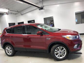 2019 Ruby Red Metallic Tinted Clearcoat Ford Escape SE 4 Door Automatic 4X4