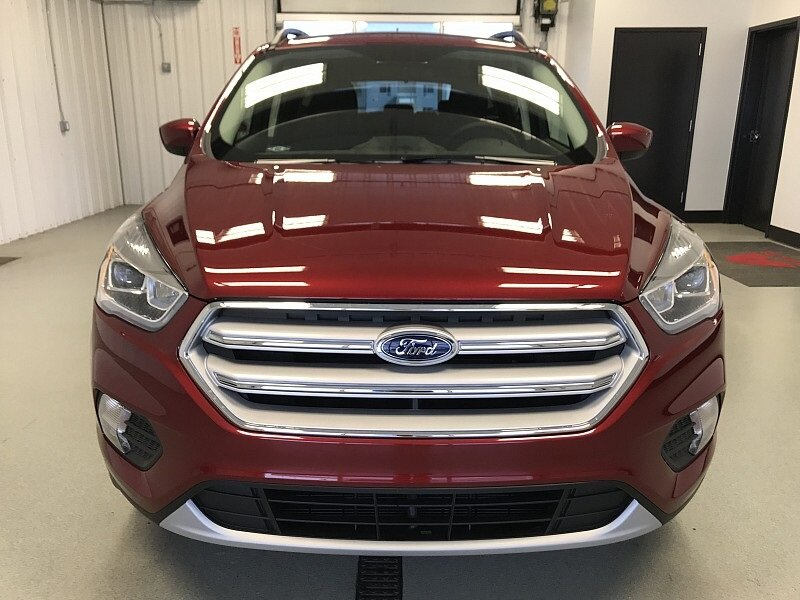 2018 Ruby Red Metallic Tinted Clearcoat Ford Escape SEL 4X4 Intercooled Turbo Regular Unleaded I-4 1.5 L/91 Engine SUV Automatic