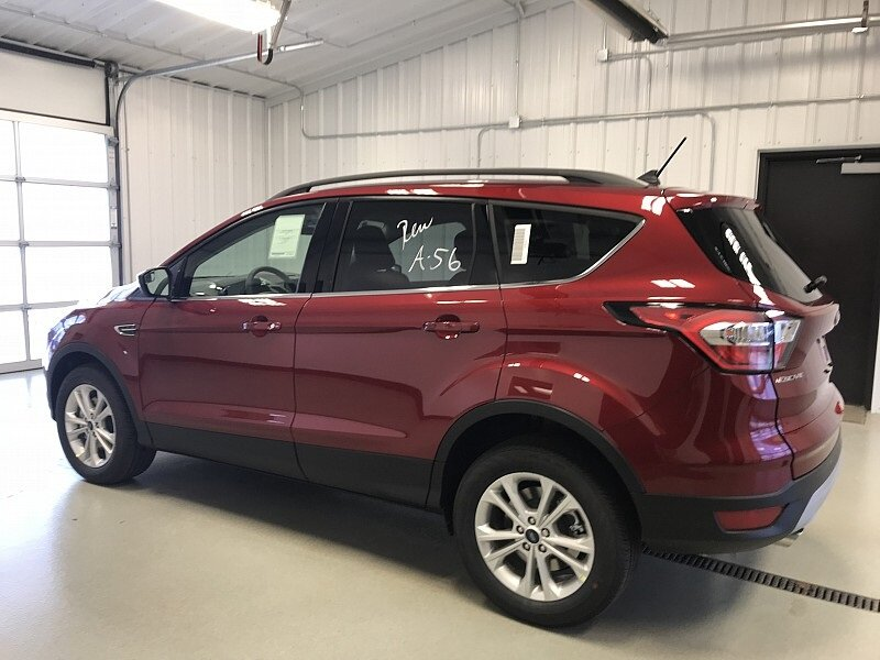 2018 Ruby Red Metallic Tinted Clearcoat Ford Escape SEL Automatic SUV 1.5L EcoBoost Engine 4X4 4 Door