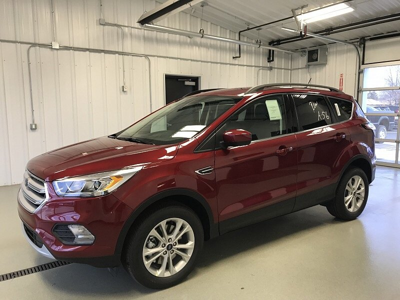 2018 Ruby Red Metallic Tinted Clearcoat Ford Escape SEL SUV Automatic 1.5L 4 cyls Engine 4X4 4 Door