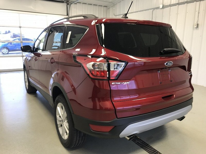 2018 Ruby Red Metallic Tinted Clearcoat Ford Escape SEL Automatic 4X4 4 Door SUV