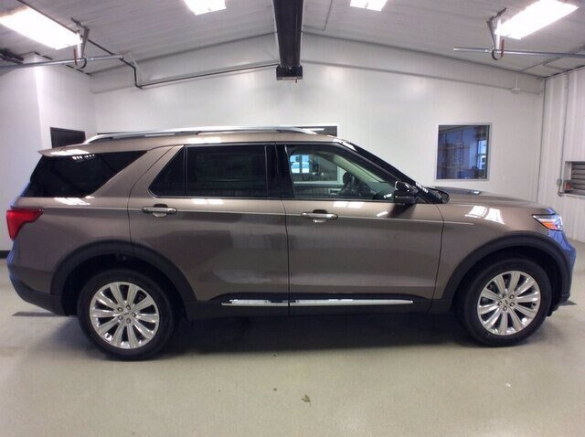 2021 Ford Explorer Limited Automatic SUV 4 Door 2.3L 4 cyls Engine 4X4