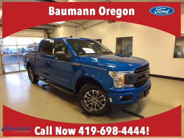 2020 Velocity Blue Metallic Ford F-150 XLT 4X4 Automatic Truck