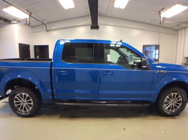 2020 Velocity Blue Metallic Ford F-150 XLT 4X4 2.7L V6 EcoBoost Engine Automatic