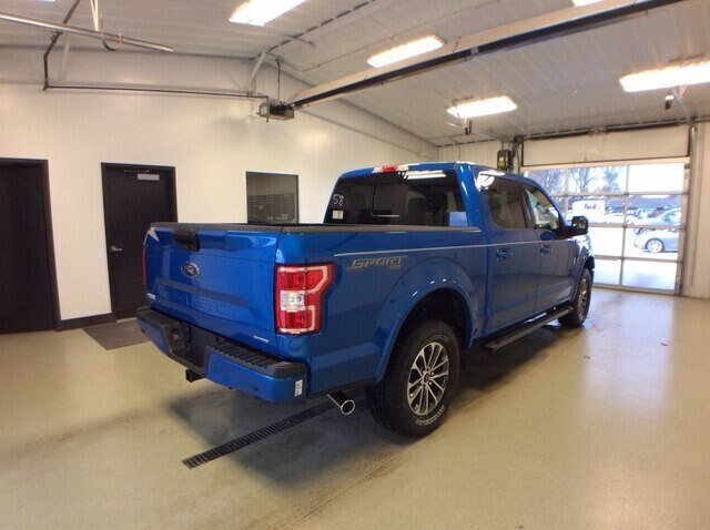 2020 Velocity Blue Metallic Ford F-150 XLT 4 Door Automatic 4X4 Truck 2.7L V6 EcoBoost Engine