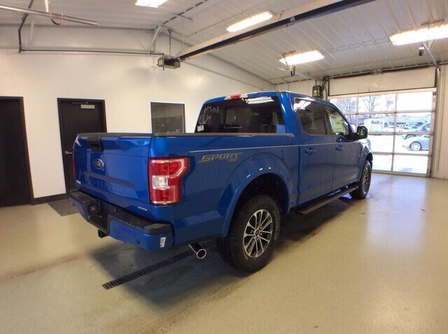 2020 Velocity Blue Metallic Ford F-150 XLT 2.7L V6 EcoBoost Engine Automatic Truck 4X4 4 Door