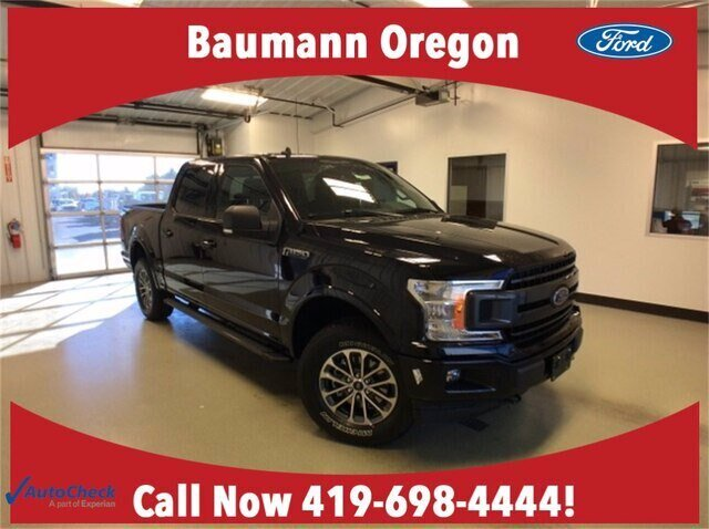 2020 Agate Black Metallic Ford F-150 XLT 4X4 2.7L V6 EcoBoost Engine 4 Door