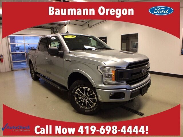 2020 Iconic Silver Metallic Ford F-150 XLT 2.7L V6 EcoBoost Engine Truck Automatic 4 Door 4X4