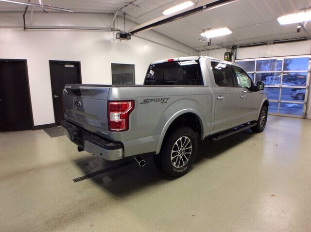 2020 Iconic Silver Metallic Ford F-150 XLT Truck Automatic 4X4 4 Door