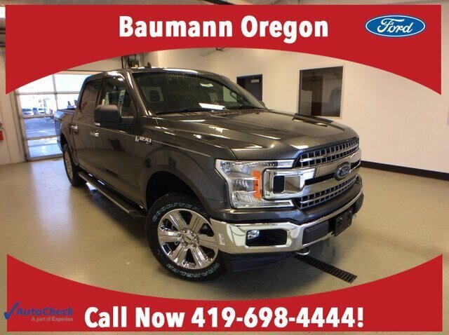 2020 Magnetic Metallic Ford F-150 XLT 4 Door 2.7L V6 EcoBoost Engine Automatic