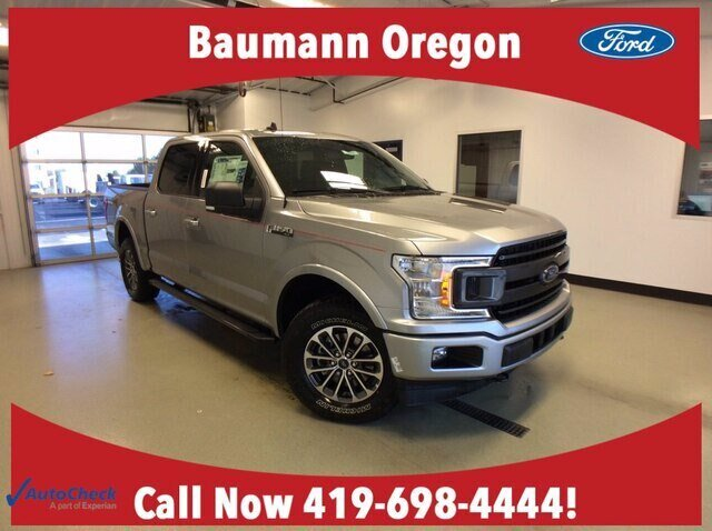 2020 Silver Ford F-150 XLT 4X4 2.7L V6 EcoBoost Engine Automatic 4 Door Truck