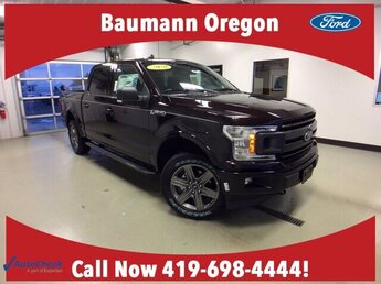 2020 Magma Red Metallic Ford F-150 XLT 4X4 2.7L V6 Engine Truck 4 Door