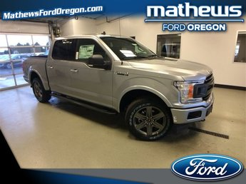 2020 Silver Ford F-150 XLT Automatic Truck 4X4