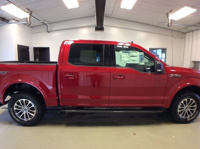 2020 Rapid Red Metallic Tinted Clearcoat Ford F-150 XLT 4X4 4 Door 2.7L V6 EcoBoost Engine Automatic