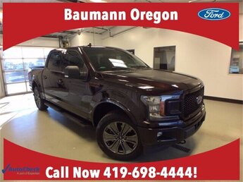 2018 Magma Red Metallic Ford F-150 LARIAT 4X4 2.7L V6 Engine Automatic