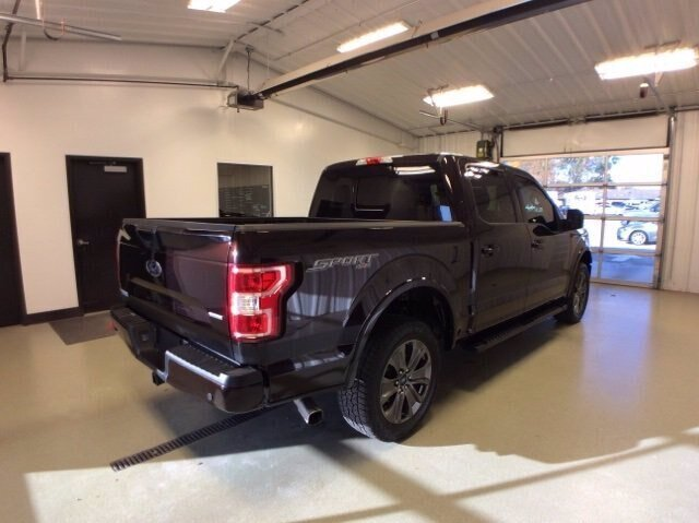 2018 Magma Red Metallic Ford F-150 LARIAT 4X4 Truck Automatic