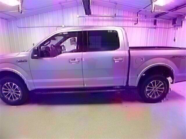 2020 Iconic Silver Metallic Ford F-150 XLT Truck 4 Door Automatic 4X4