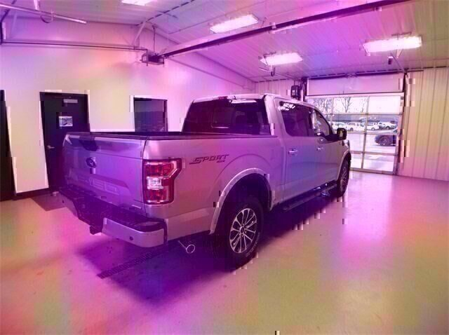 2020 Iconic Silver Metallic Ford F-150 XLT 4X4 Automatic Truck 2.7L V6 Engine